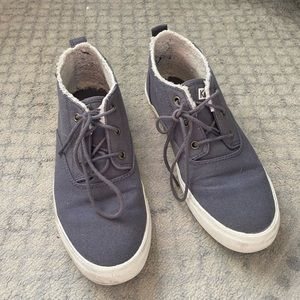 Dark Gray Canvas Keds